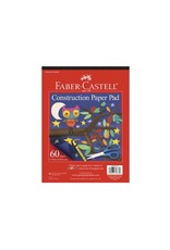 "Faber Castell Construction Paper Pad 9"" x 12"