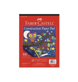 """Faber Castell Construction Paper Pad 9"""" x 12"""