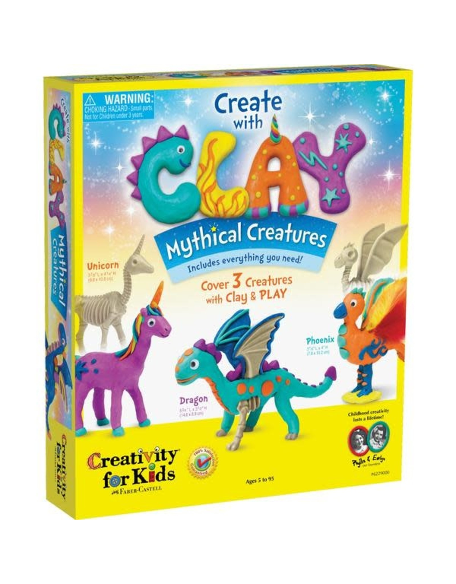 Faber Castell Create with Clay Mythical Creatures