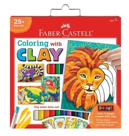 Faber Castell Do Art Coloring with Clay