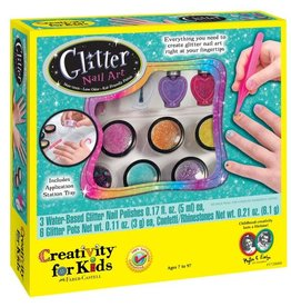 Faber Castell Glitter Nail Art