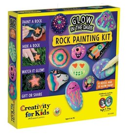 Faber Castell Glow in the Dark Rock Painting Kit