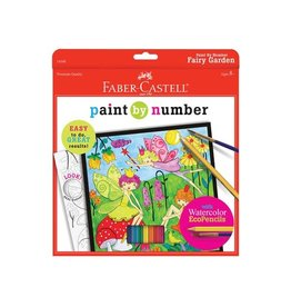 Faber Castell Paint By Number Fairy Garden