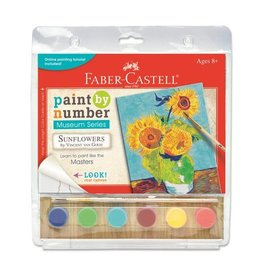 Faber Castell Paint By Number Museum Series-Sunflowers