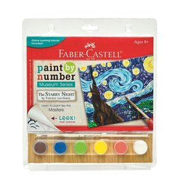 Faber Castell Paint By Number Museum Series-The Starry Night
