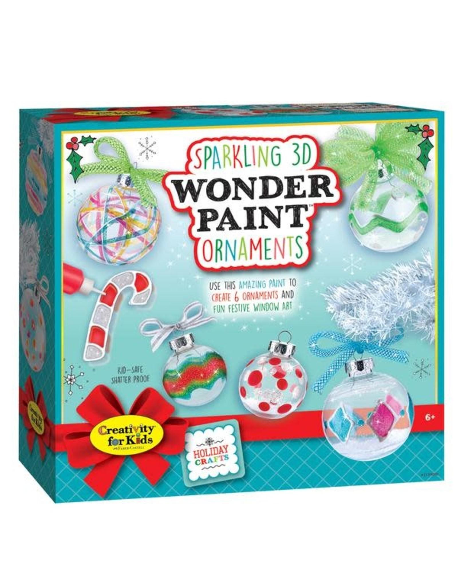 Faber Castell Sparkling 3D Wonder Paint Ornaments