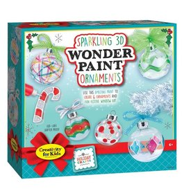 Faber Castell Sparkling 3D Wonder Paint Ornaments