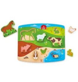 HAPE INTERNATIONAL Farm Animal Puzzle & Play