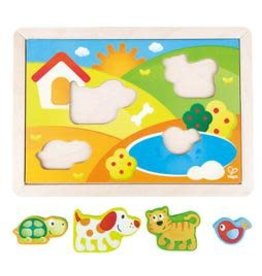 HAPE INTERNATIONAL Sunny Valley Puzzle 3-in-1