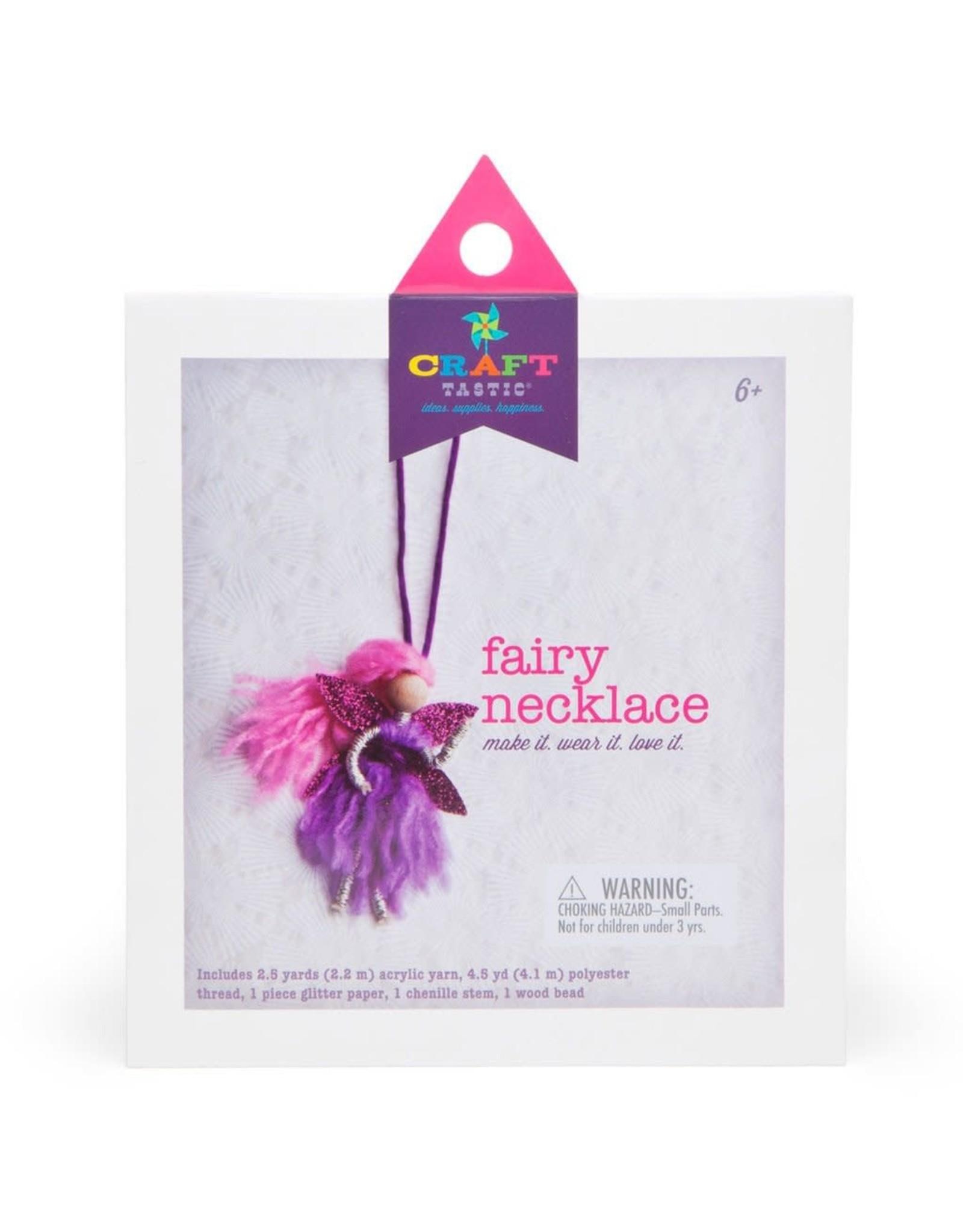ANN WILLIAMS GROUP Craft-tastic Fairy Necklace Kit