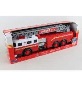 DARON Fdny Ladder Truck W/LIGHTS & Sound
