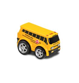 Kid Galaxy Soft Body Pull Back School Bus