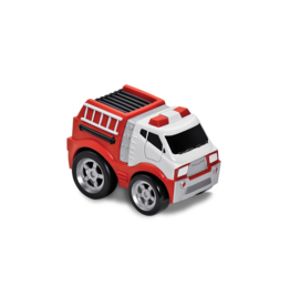 Kid Galaxy Soft Body-Pull Back Fire Truck