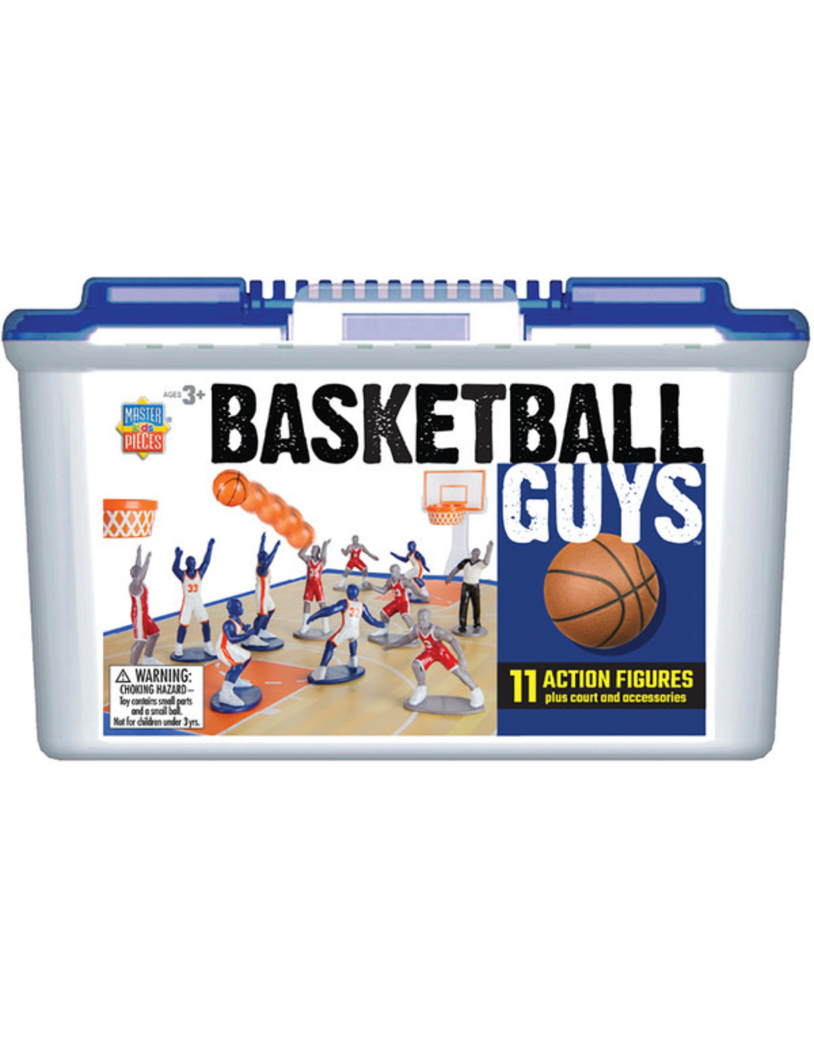 MASTER PIECES PUZZLE Basketball Player Blue/White vs.Red/Gray