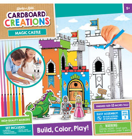 MASTER PIECES PUZZLE Castle Playset Cardboard buildable