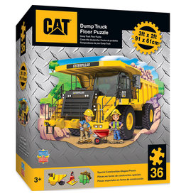 MASTER PIECES PUZZLE CAT Dump Truck Floor puzzle 36pc