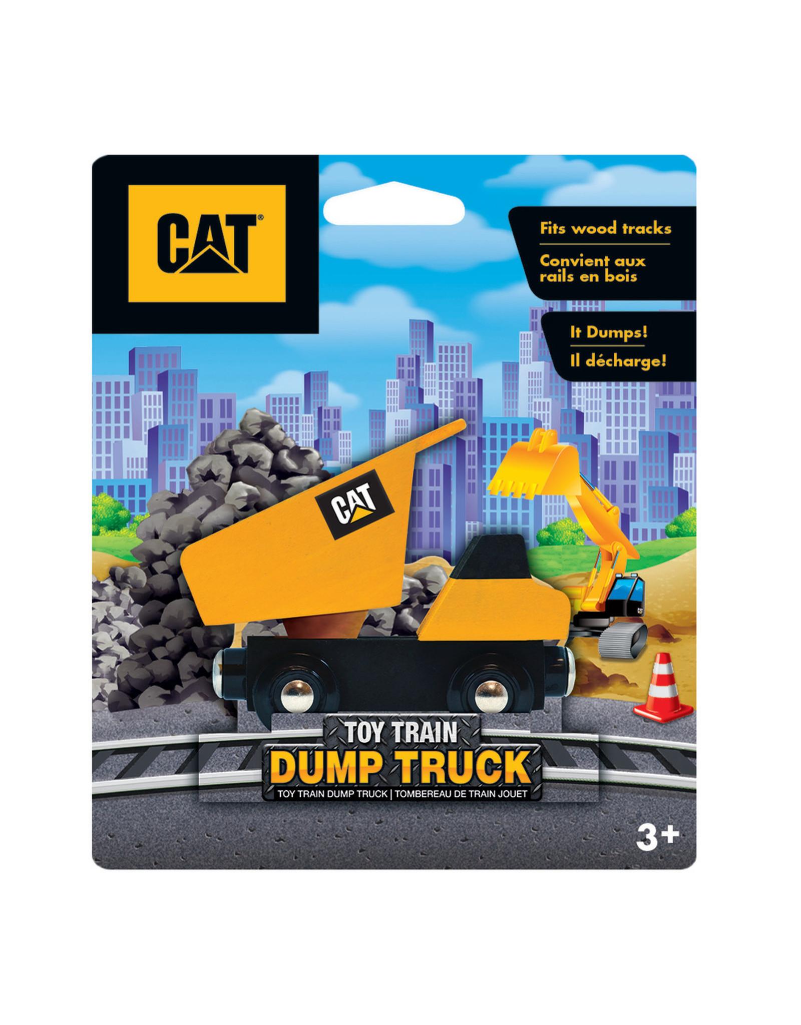 MASTER PIECES PUZZLE CAT Dump Truck Train