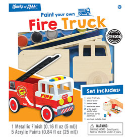 MASTER PIECES PUZZLE Firetruck wood kit