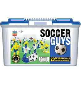 MASTER PIECES PUZZLE Soccer Players Blue/White vs.Yellow/Blue