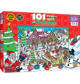 MASTER PIECES PUZZLE Things to Spot at Christmas 101pc