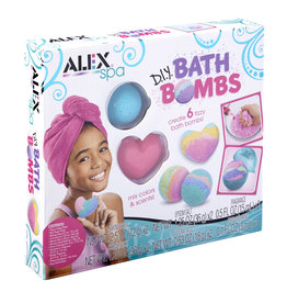 ALEX DIY BATH BOMBS