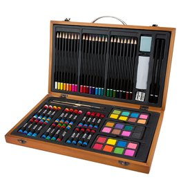 ALEX Wood Portable Art Set