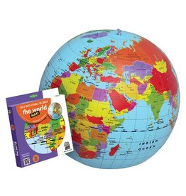 """TEDCO Inflatable Globe/Countries 20"""""""