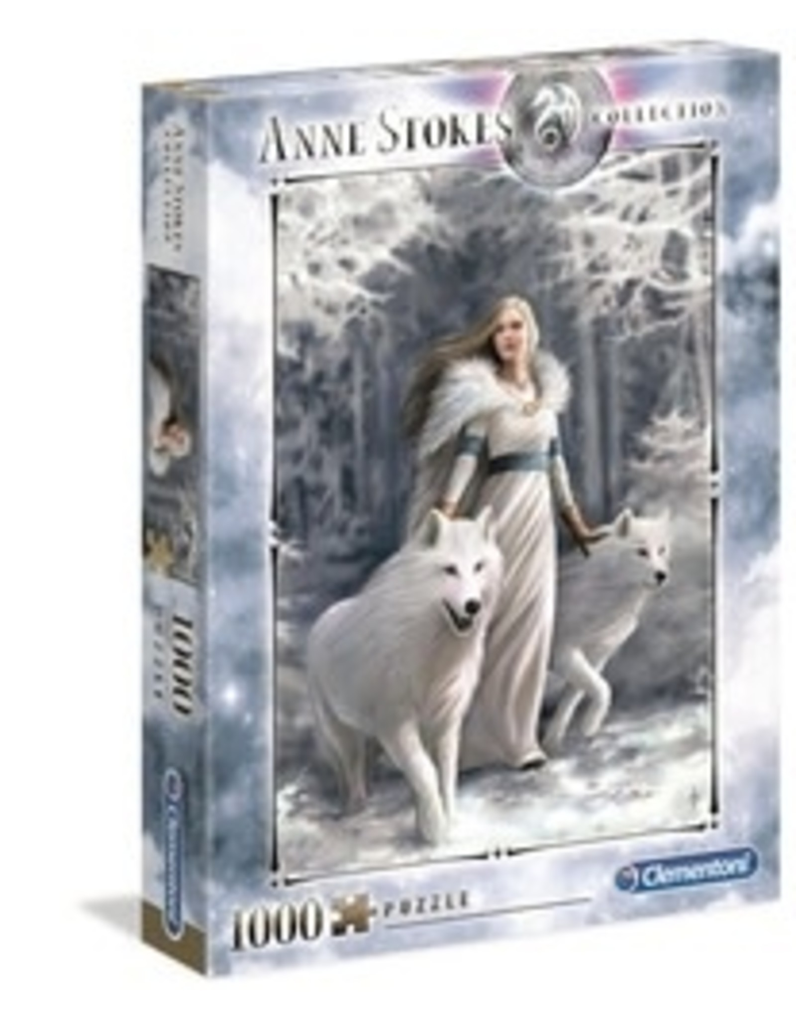 Clementoni Puzzles Anne Stokes - Winter Guardians, 1000 pc puzzle - NEW
