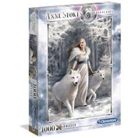 Clementoni Puzzles Anne Stokes - Winter Guardians, 1000 pc puzzle - NEW