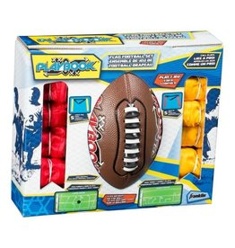 FRANKLIN SPORTS 10 Player Flag Football Set With Playbook Mini Ball