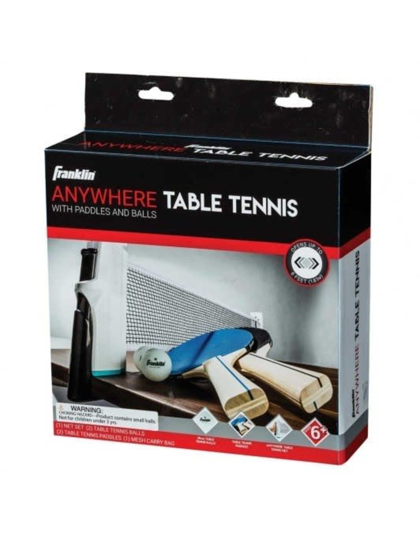 FRANKLIN SPORTS Anywhere Table Tennis Set