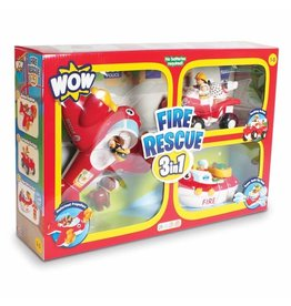 Wow Toys Fire Rescue 3 In 1