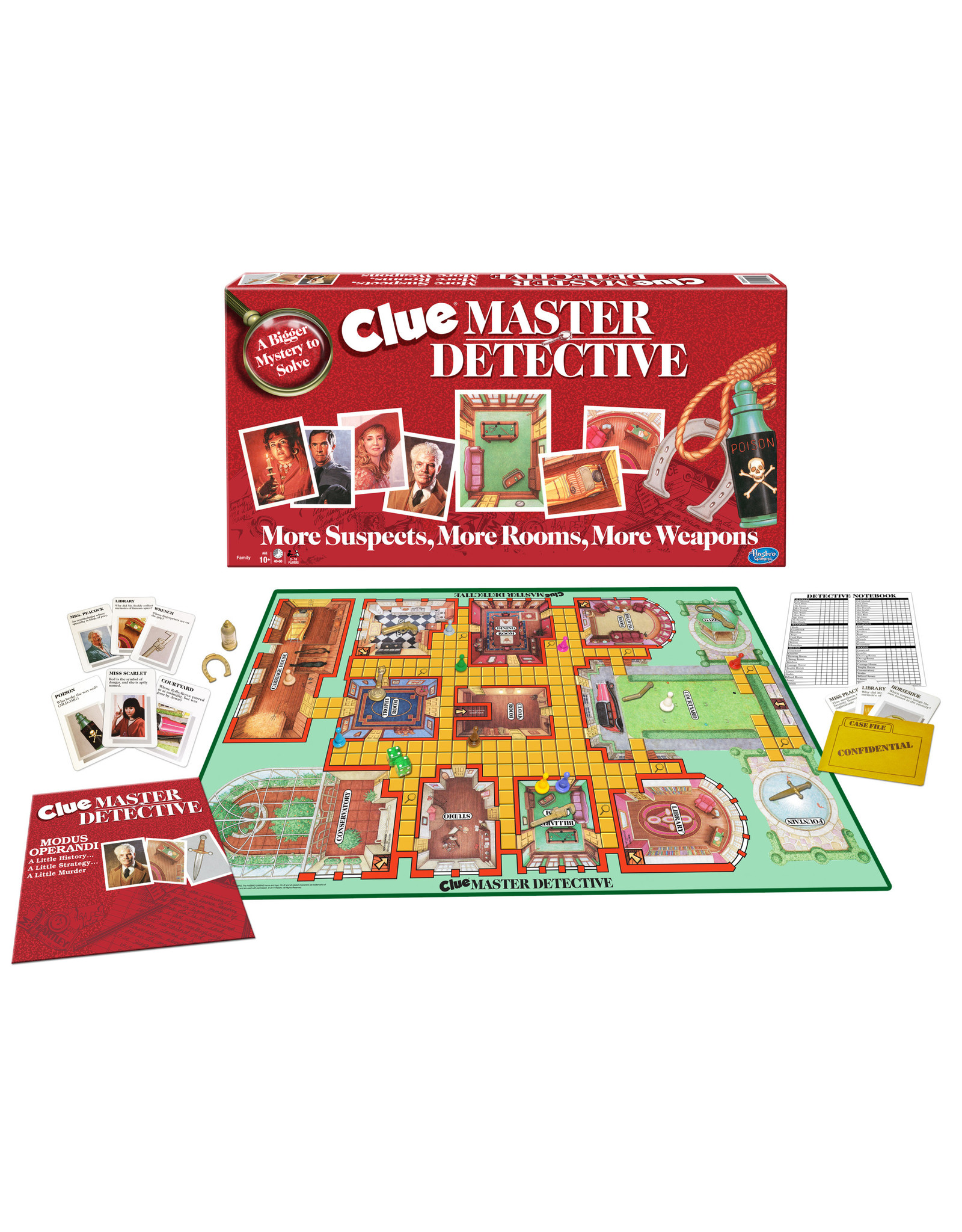 WINNING MOVES GAMES CLUE MASTER DETECTIVE