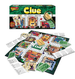 WINNING MOVES GAMES Clue The Classic Edition