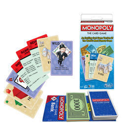 WINNING MOVES GAMES MONOPOLY CARD GAME