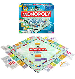 WINNING MOVES GAMES Monopoly: The Mega Edition