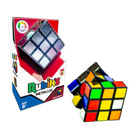 WINNING MOVES GAMES Rubik's Metallic Cube
