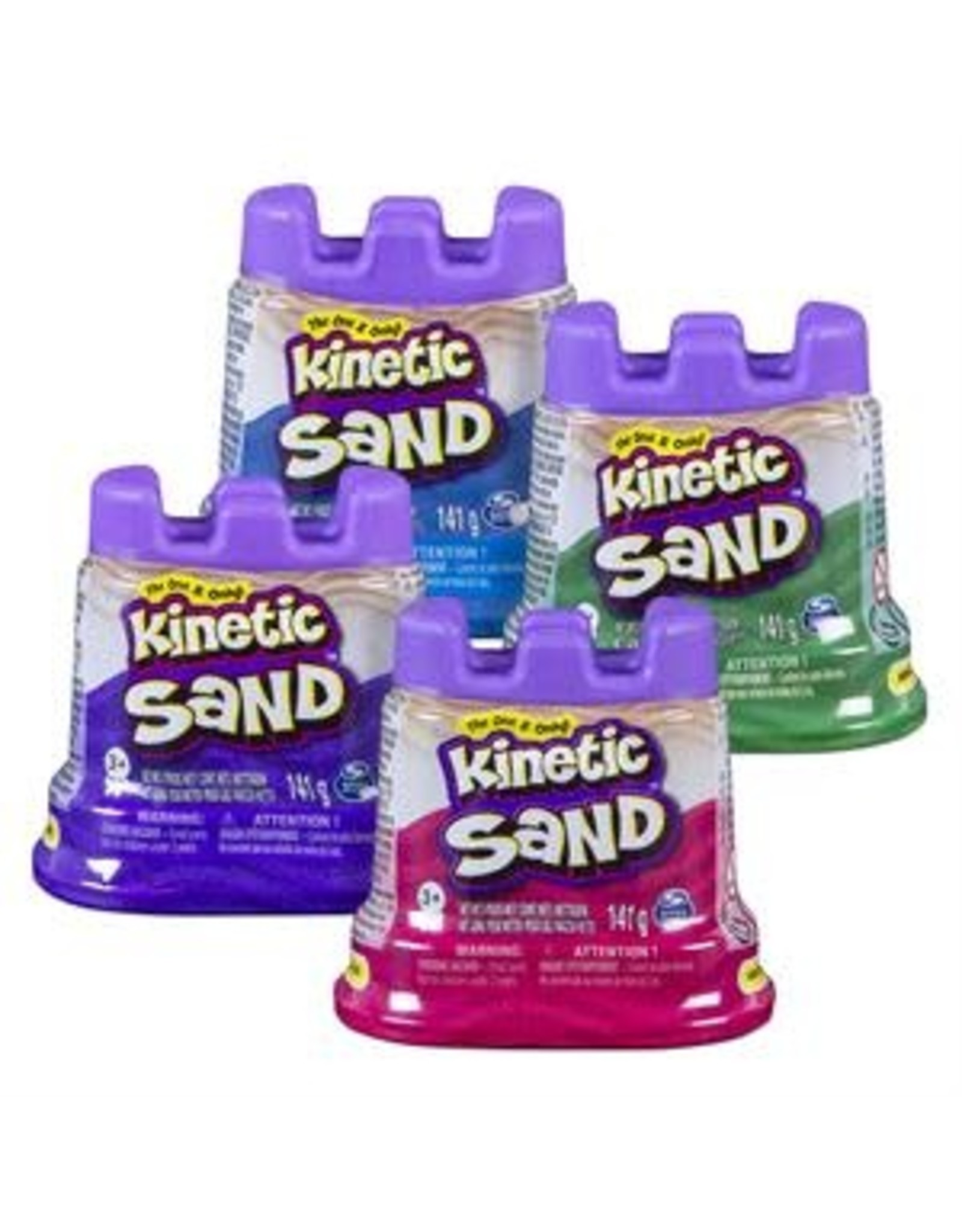 Gund/Spinmaster Kinetic Sand, Single Container 4.5oz
