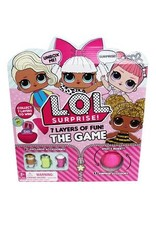 Gund/Spinmaster L.O.L. Surprise! 7 Layers of Fun Board  Game