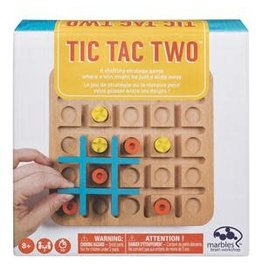 Gund/Spinmaster Tic Tac Two Ð Strategy-Based Board  Game for Families