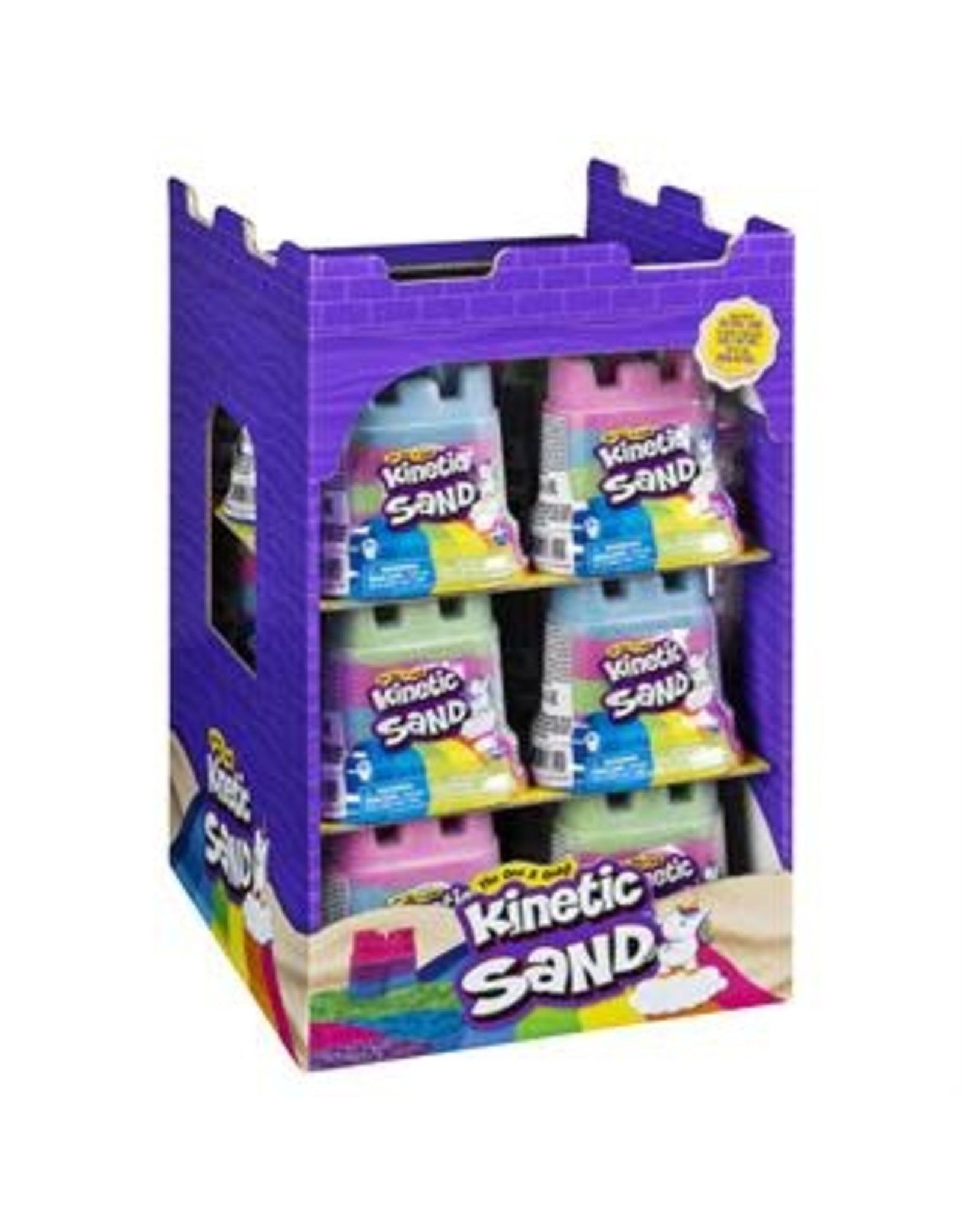 Gund/Spinmaster Kinetic Sand, Rainbow Unicorn  Multicolor 5oz