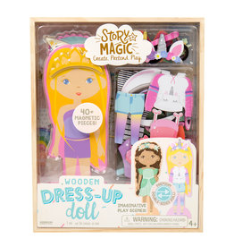 Horizon Group SM Wooden Dress Up Doll