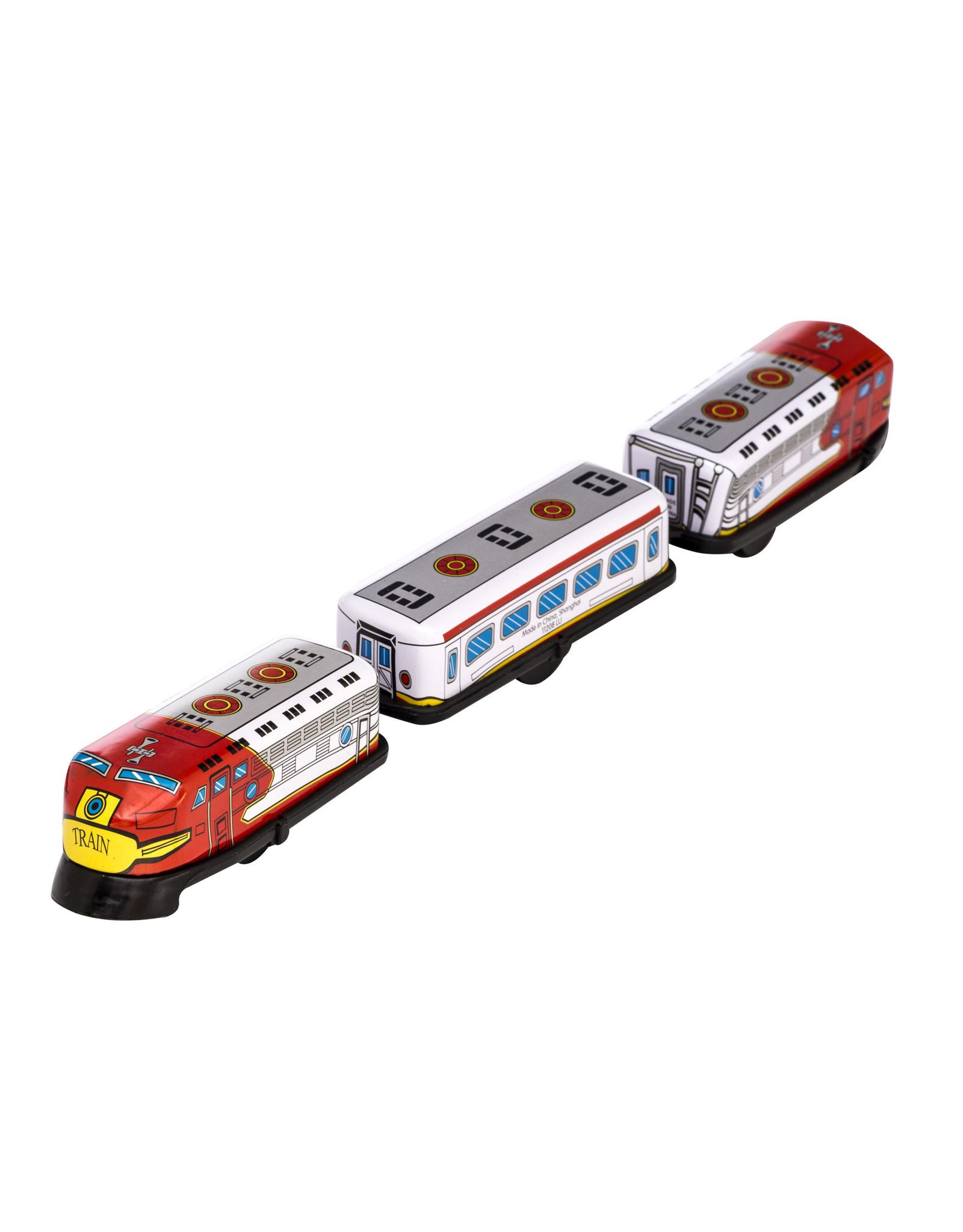 SCHYLLING 3 CAR TRAIN; TIN WIND-UP