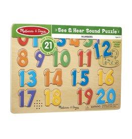 MELISSA & DOUG Numbers Sound Puzzles