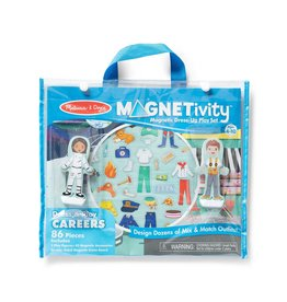 MELISSA & DOUG Magnetivity - Dress & Play Careers