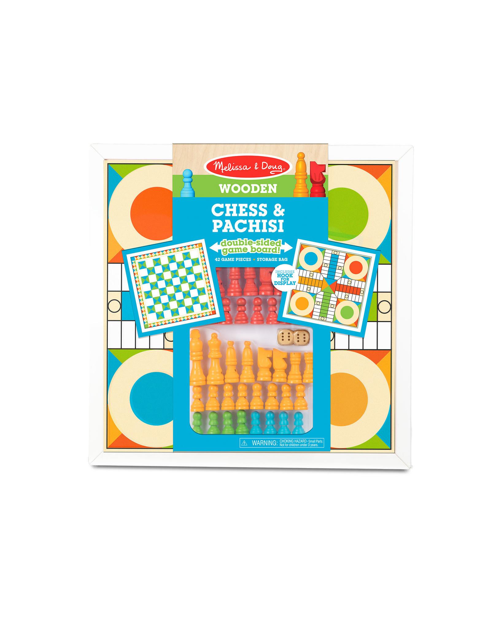 MELISSA & DOUG Chess & Pachisi