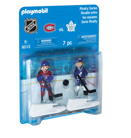 PLAYMOBIL U.S.A. NHL  Rivalry Series - MTL vs TOR