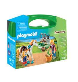PLAYMOBIL U.S.A. Horse Grooming Carry Case