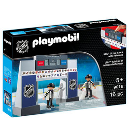 PLAYMOBIL U.S.A. NHL Score Clock with Referees