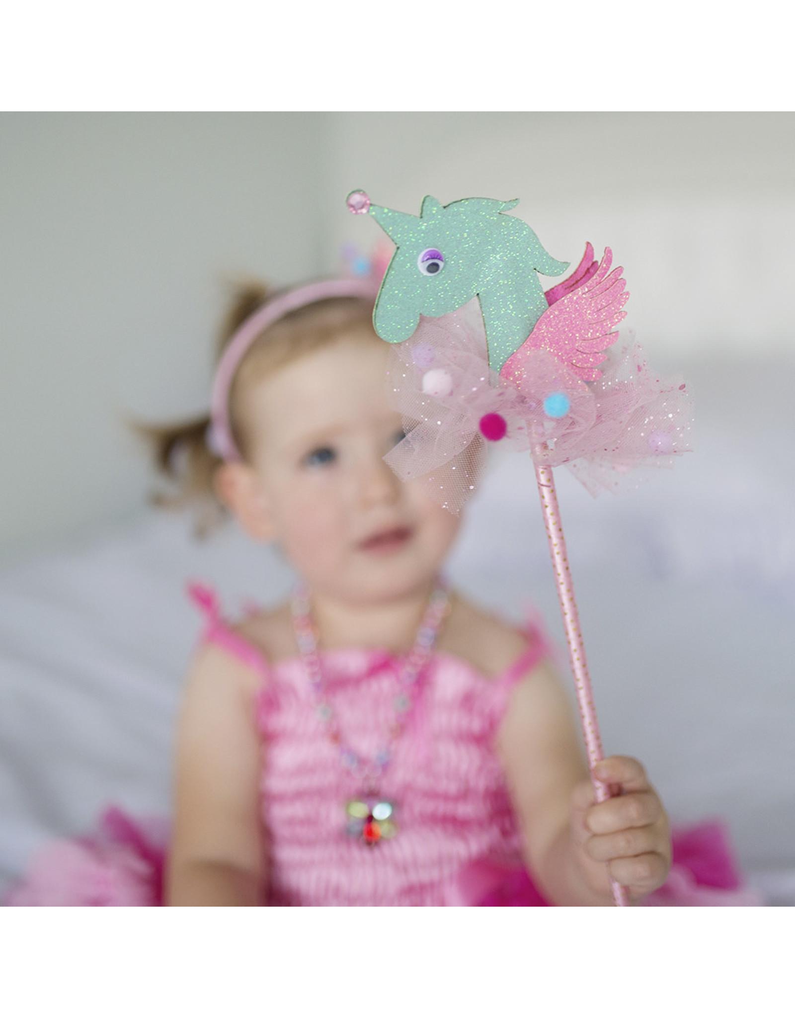 CREATIVE EDUCATION 3D Unicorn Wand Assortment, Pink/Gold